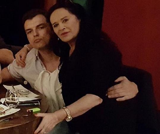 Hana Gregorová s o 32 let mladším přítelem Ondřejem