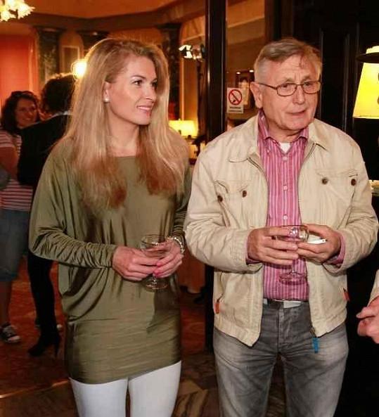 Jiří a Olga Menzelovi si pořád skvěle rozumí.