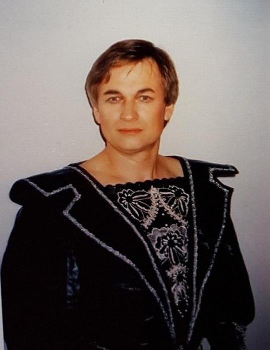 Vladimír Doležal jako princ z Rusalky.