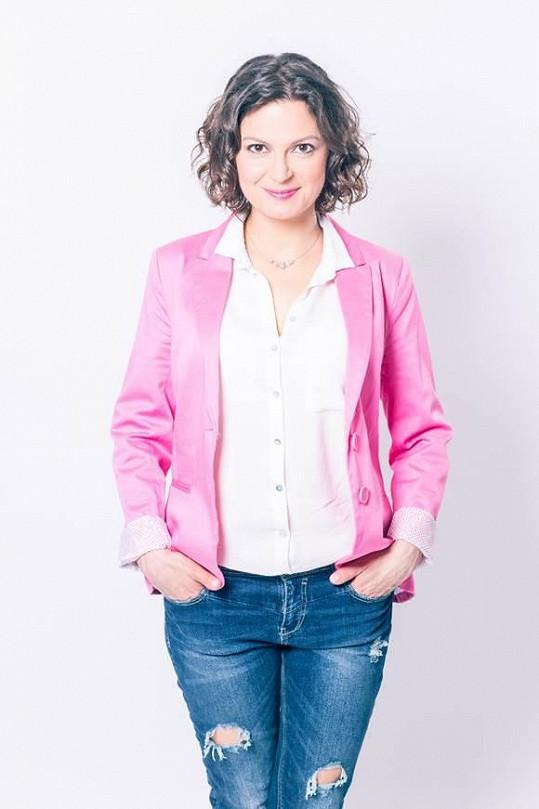 Slovenská herečka Lujza Garajová Schrameková bude s Davidem tvořit dvojici.