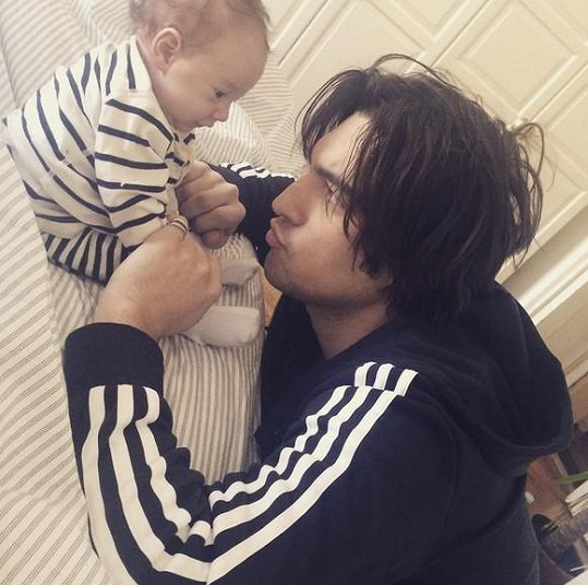 Jordan Haj s dcerou Lennon