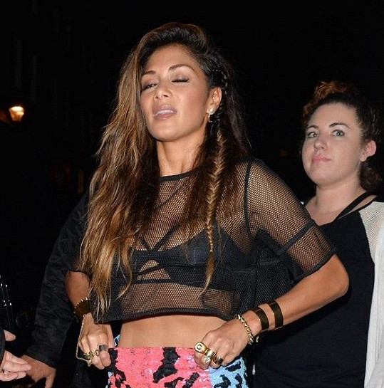 Nicole Scherzinger vystoupila v G-A-Y klubu v Londýně.