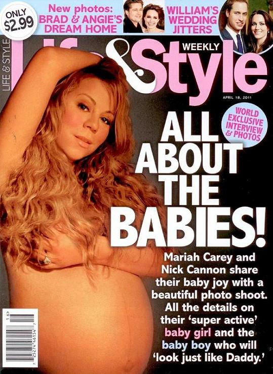 Zpěvačka se nechala nahá nafotit pro titulku magazínu Style Weekly's.