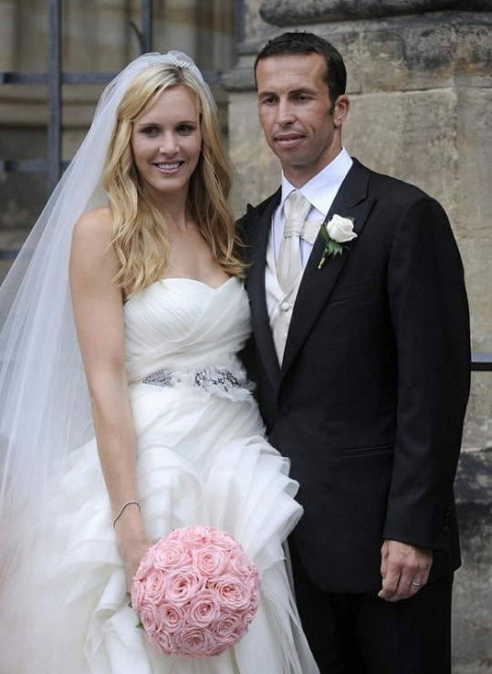 Radek Štěpánek a Nicole Vaidišová se vzali 17. července 2010.