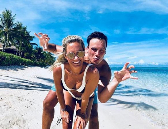 Petr Suchoň a Klára Koukalová do toho praštili na exotickém Mauriciu.