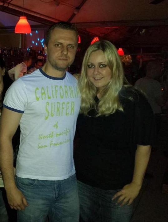 Klára Kolomazníková s novým přítelem Petrem