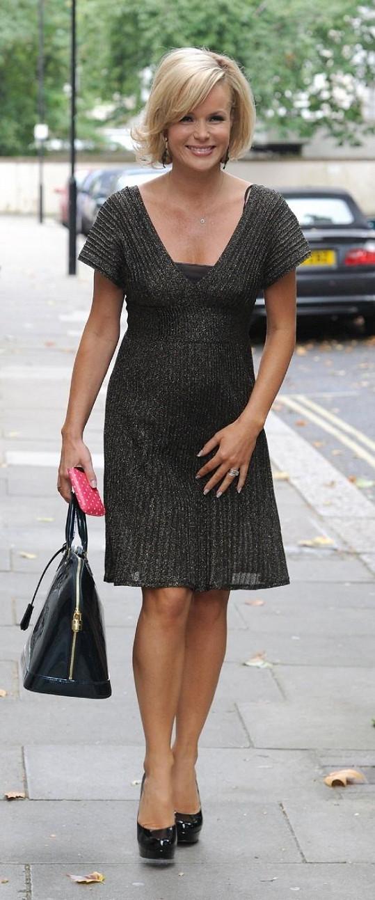 Těhotná Amanda Holden.