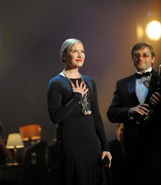 Helena Dvořáková v Národním divadle.