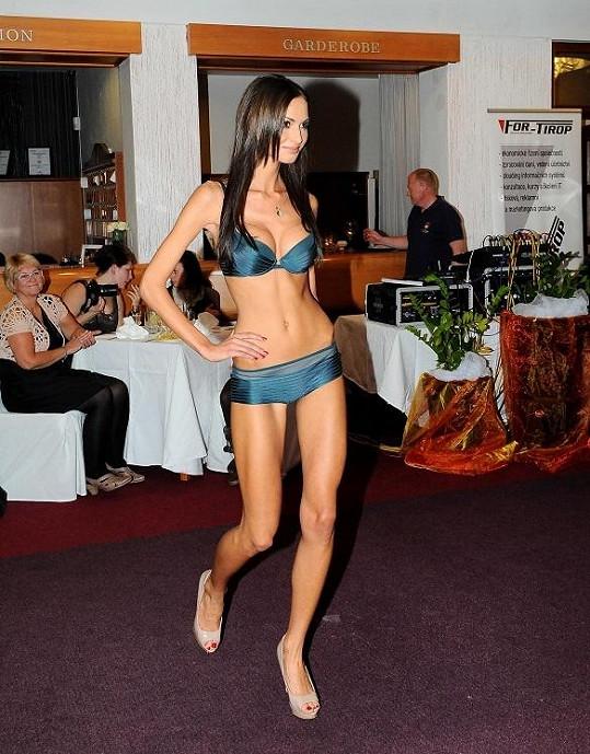 Modelka konečně přiznala, že nezdravě hubla.