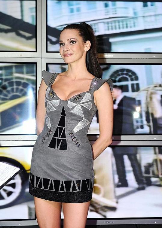 Andrea Verešová měla nejvíc sexy šaty večera.