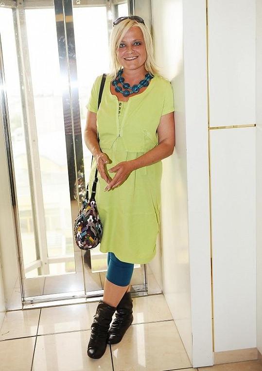 Markéta Mayerová výrazně zhubla, ale dojem pokazilo její oblečení.
