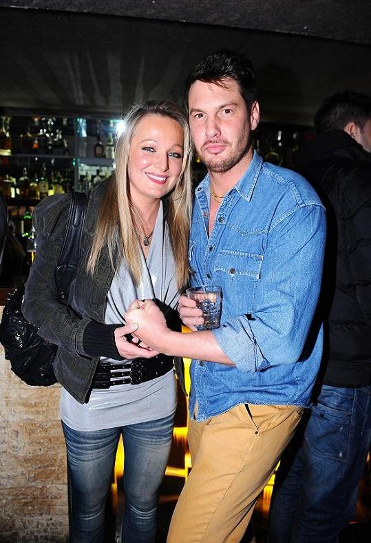 Vašek Jelínek s manželkou.