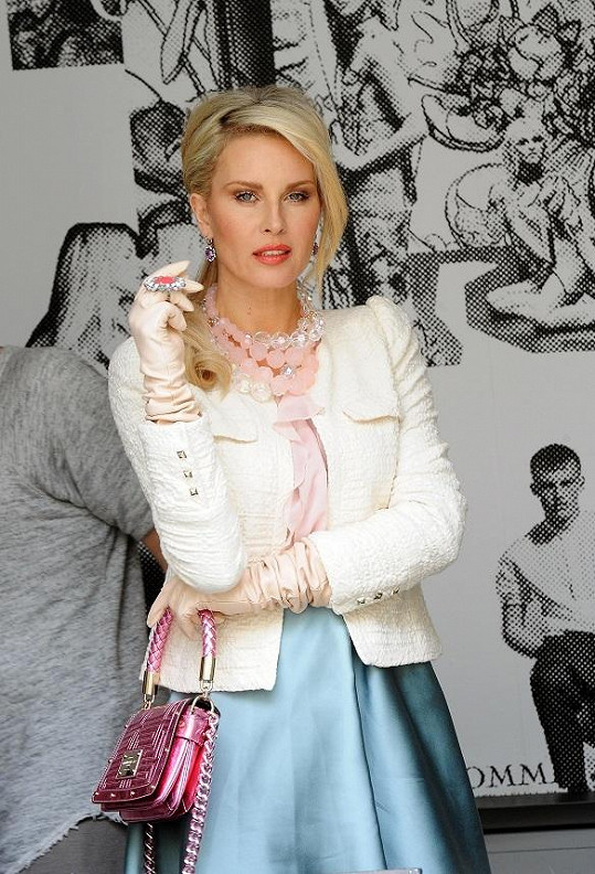 Simona Krainová je podruhé těhotná.