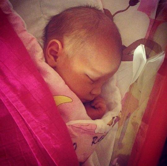 Jitka Boho má krásnou dcerku.