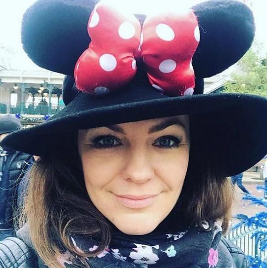 V Paříži dováděli v Disneylandu.