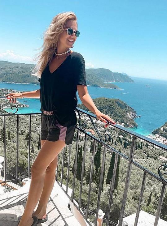 Řecko si Lucie nemůže vynachválit.