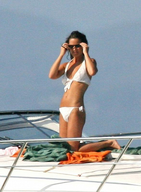 Pippa by klidně mohla plavky předvádět na přehlídkovém mole.