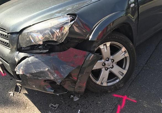 Marta Jandová měla nehodu.