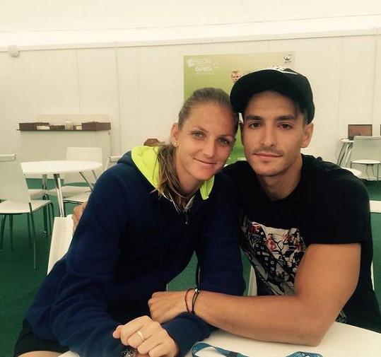Karolína Plíšková a Michal Hrdlička už zřejmě nejsou pár. Tenistka by místo smutku měla slavit...