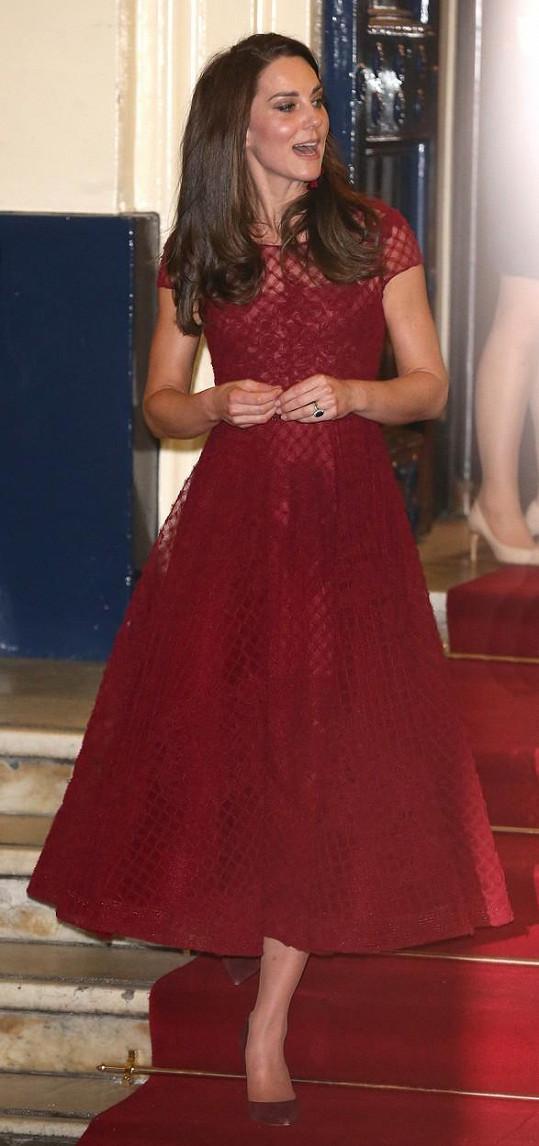 Kate přišla na premiéru muzikálu 42nd Street