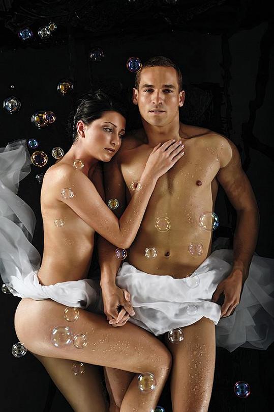 Nejkrásnější hasička Stanislava Halušková a Hasič roku 2013 Tomáš Petreček by byli krásný pár.