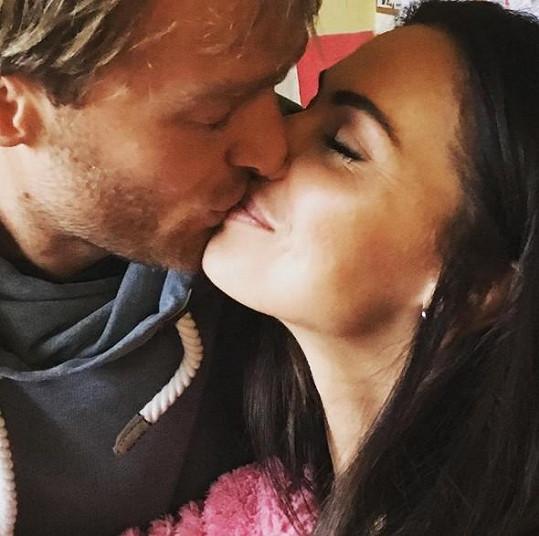 Eliška Bučková a Jakub Vágner jsou zamilovaní až po uši.