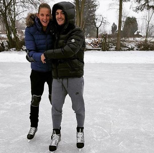 V Praze spolu nedávno bruslili.