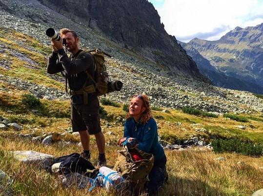 S manželem Pepou si užívají krásné výhledy.