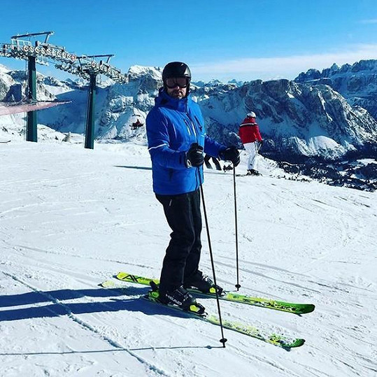 Emanuele se díky Lucii po letech vrátil k lyžování.