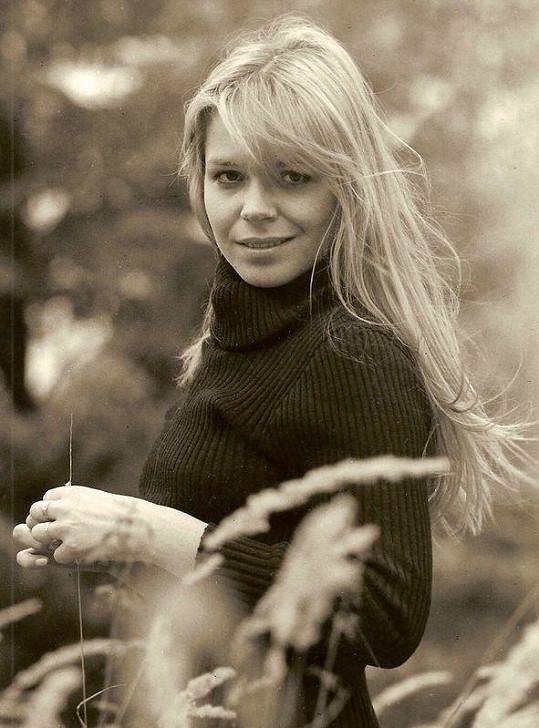 Dagmar Havlová byla krásná od mládí.