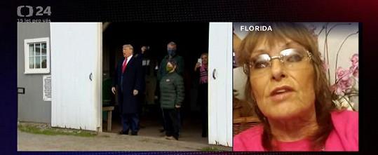 Olga Matušková podporuje Donalda Trumpa.