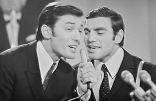 Karel Gott a Antonín Gondolán v roce 1967