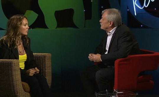 Lucie Vondráčková v pořadu Všechnopárty prozradila, jak se seznámila s Plekancem.