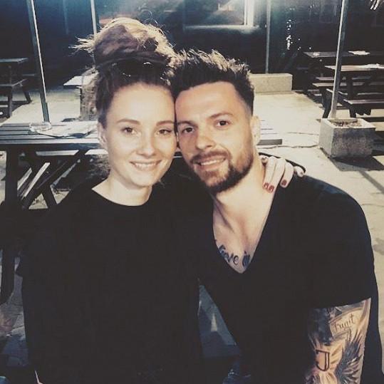 Michal Gulaši přidal na svůj instagramový účet fotku se svou sestrou Kristýnou.