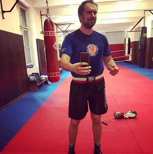 Emanuele Ridi boxuje, aby se dostal do letní formy.