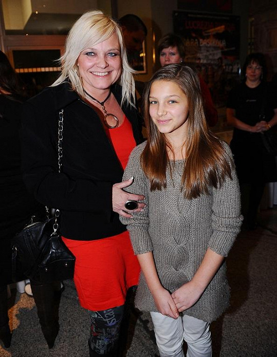 Markéta Mayerová s dcerou Agátou.