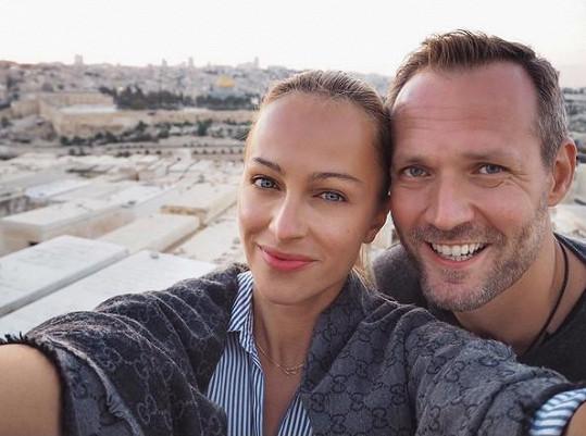 S manželem Ondřejem Novotným