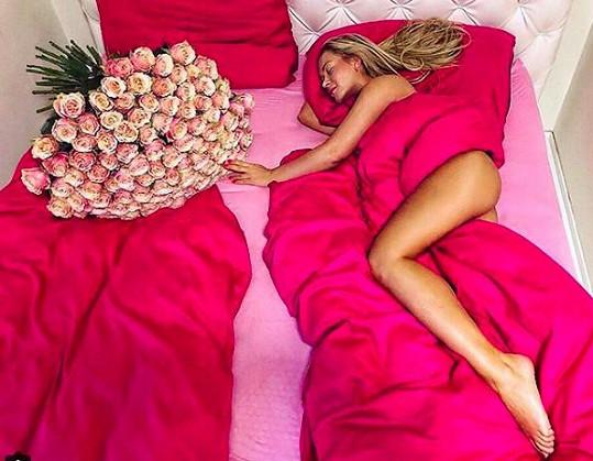 Takhle vypadá její den svatého Valentýna.