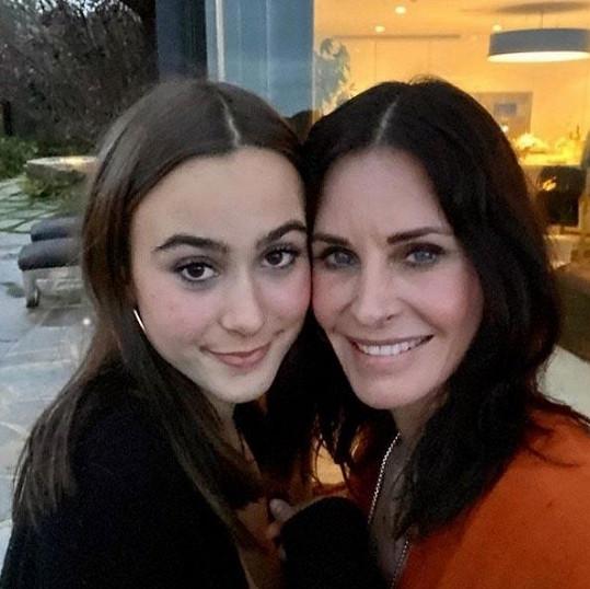 Courteney Cox s dcerou Coco pobavily fanoušky.