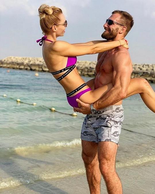Mašlíková s manželem vyrazili na dovolenou sami dva, bez syna.