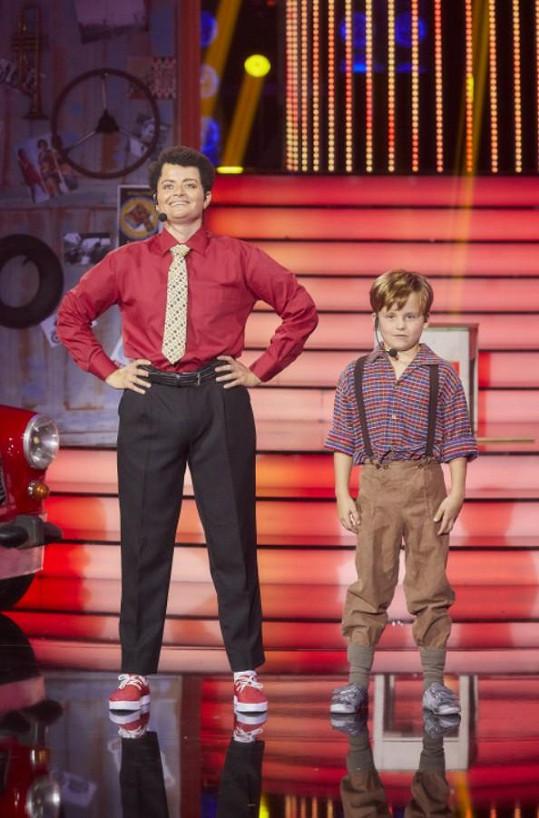 V jejím vystoupení se objevil i syn Pepy Vojtka Adam.