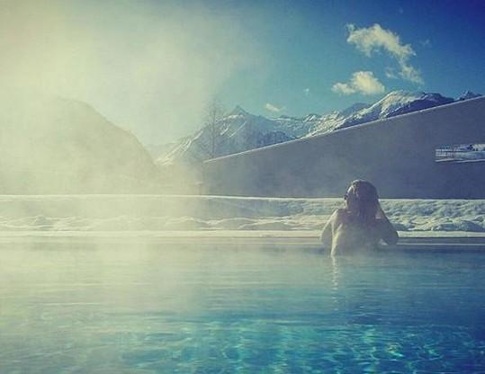 Aneta Krejčíková si užívá dovolenou v Rakousku. Snímky ale musí zveřejňovat hodně decentní.