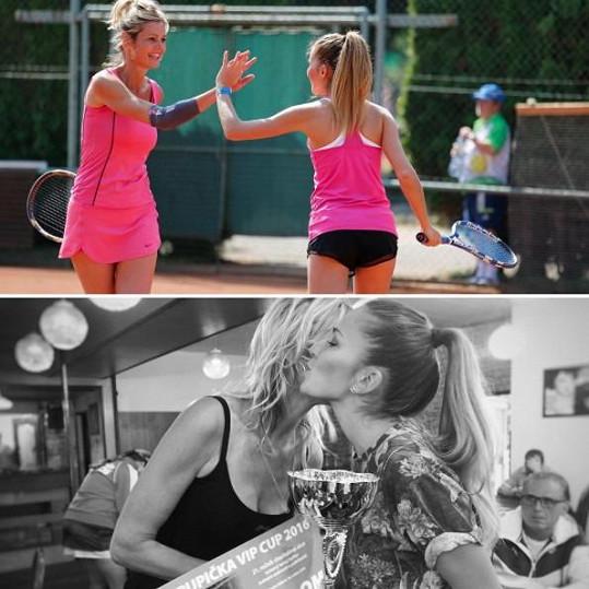 Bezděková svůj první zápas vyhrála.
