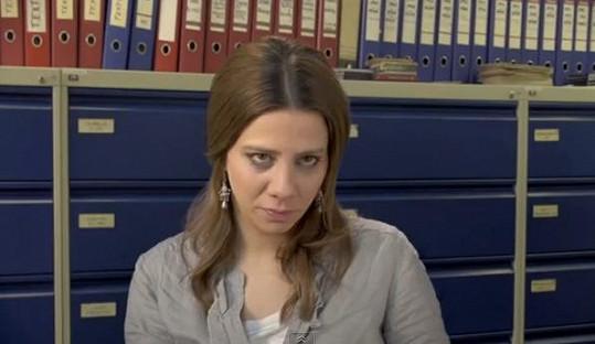 Aneta Langerová je na pracovním úřadě nová.