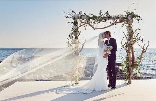 Tereza Maxová se pochlubila svatební fotkou.