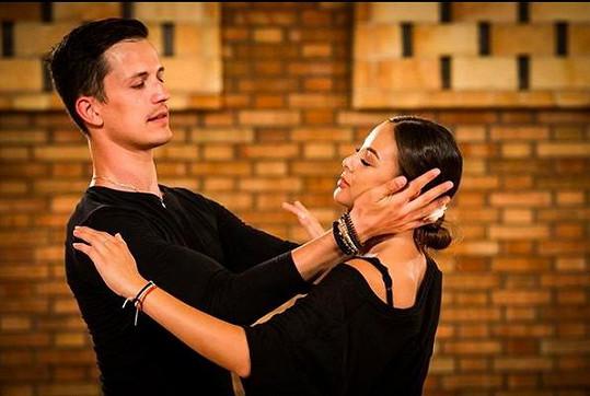 Bagárová má z tančení zatím velkou trému.