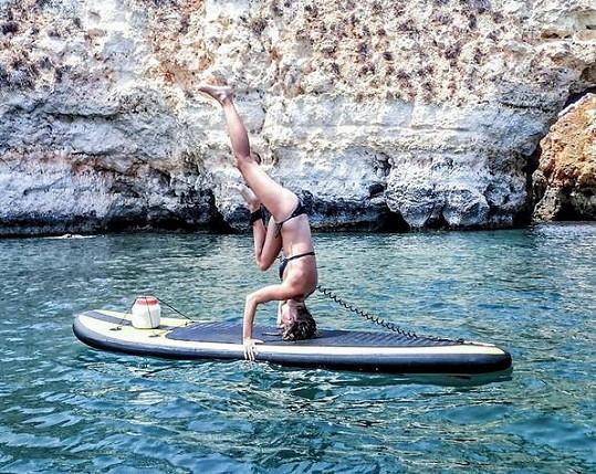 Kotková propadla surfování.