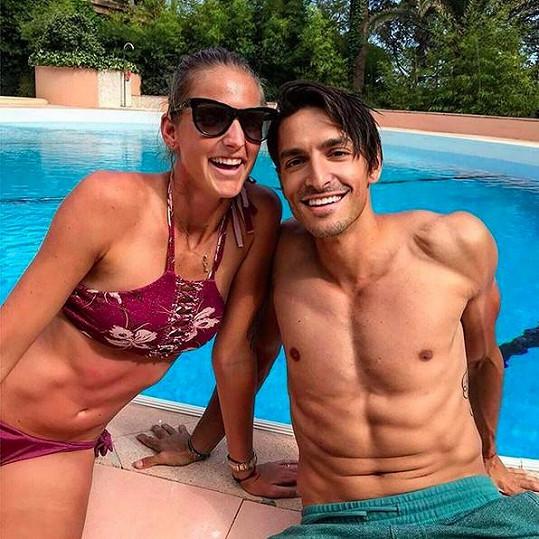 Karolína a Michal relaxovali v Monte Carlu.