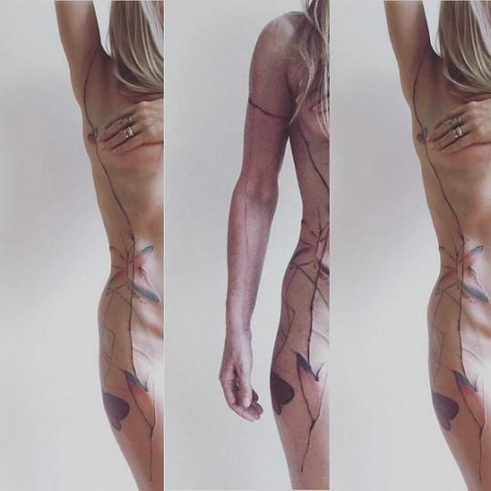 Prezentace tetování