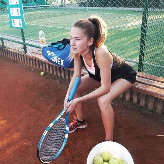 Sexy tenistka